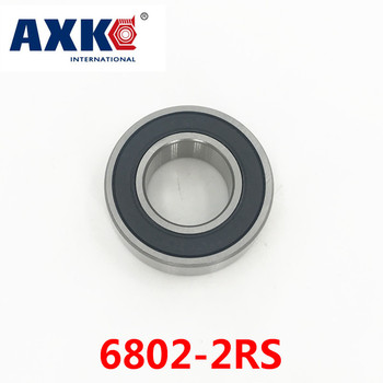 Axk 6802-2rs Rulman Abec-1 (10 adet) 15x24x5 Mm Ince Kesit 6802rs Rulmanlar 6802 2rs 61802 Rs